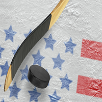 Play hockey in the USA