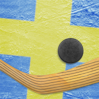 Play hockey in Sweden